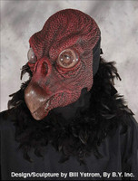 Scavenger Vulture Predator Evil Scary Hooked Beak Bird Halloween Costume Mask