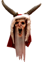 Krampus Anti Santa Clause Horned Christmas Halloween Costume Mask