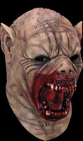 Farkas Freak Show Half Animal Evil Creature Halloween Costume Mask