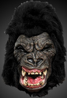 King Ape Gorilla Fierce Raging Horror Halloween Costume Mask