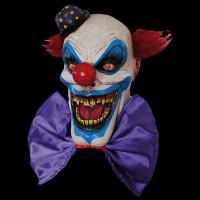 Chompo the Circus Clown Insane Evil Serial Killer Halloween Costume Mask