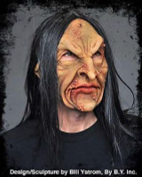 Deviant Witch Hag Troll Ugly Super Soft Moving Mouth Halloween Costume Mask