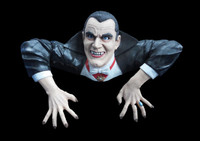 Life Size Count Dracula Vampire Grave Walker Torso Halloween Prop Decoration