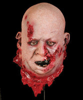 Very Realistic Life Size Fat Large Severed Gory Head Halloween Prop Decoration