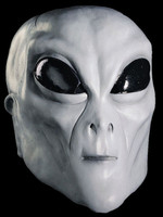 Alien Extraterrestrial Grey ET UFO Creature Adult Halloween Costume Mask