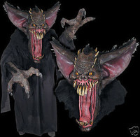 Huge Extreme Adult Grusome Bat Halloween Mask Creature Reacher Costume