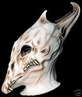 Gothic Phantasmagoria Skull Halloween Mask Costume Prop