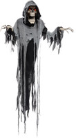 "72"" Life Size Animated Hanging Reaper Halloween Prop props Decoration"