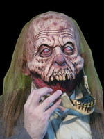 Slack REMOVABLE JAW Rotting Corpse Walking Dead Zombie Halloween Costume Mask