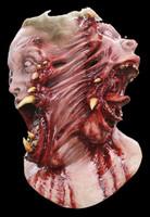 Siamese Bloody 2 Sided Deformed Circus Freak Creature Halloween Costume Mask
