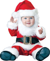 Santa Deluxe Baby Santa Claus Saint Nick Christmas Infant Costume