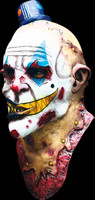 Mime Zack Bizarre Evil Clown Part Skinned Killer Riveted Halloween Costume Mask
