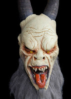 Krampus Demon folklore of Alpine Anti Santa Countries Halloween Costume Mask