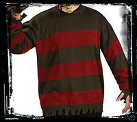 Freddy Krueger Sweater S 50-52 Halloween Mask Costume