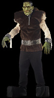 Extreme Crypt Lab Frankenstein Halloween Mask Costume