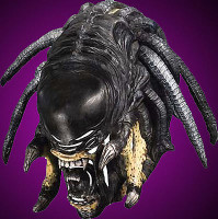 Deluxe Predator Alien Hybrid Halloween Mask Costume