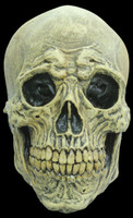 Death Skull Natural Bone Wrinkled Detailing Halloween Costume Mask