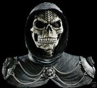 Dark Reaper Halloween Mask & Shoulders Costume Prop