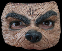 Comfortable Realistic Werewolf Wolf Dog Latex Halloween Costume Half Mask