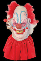 Clowning Around Juggalo Insane Evil 4 Headed Clown Halloween Costume Mask