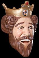 Burger King TV Commercial Halloween Vinyl Mask Costume
