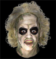 Beetlejuice Movie 2 Overhead Halloween Mask Costume