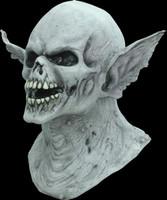 Banshee Creature Vampire Ears Dracula Skull Halloween Costume Mask