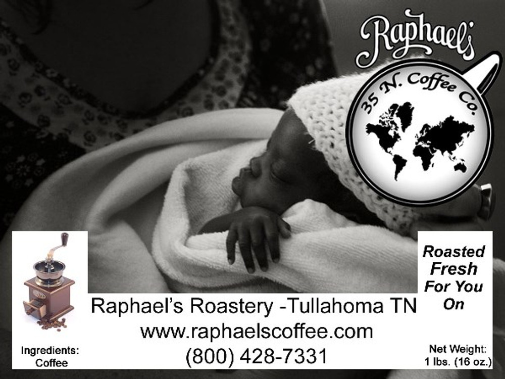Blended from 3 different continents and distinctly different coffee growing regions.
