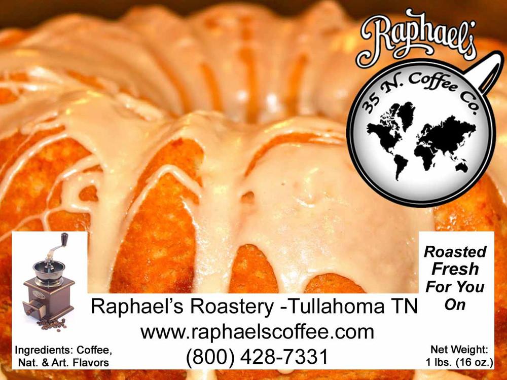 Certified Fair Trade, creamy cinnamon and nut tones.