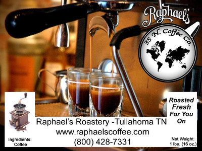 Fair Trade Certified Organic espresso blend, full bodied, bold and distinctive.