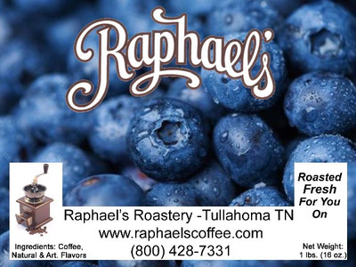 The taste of fresh blueberries with a touch of cinnamon.