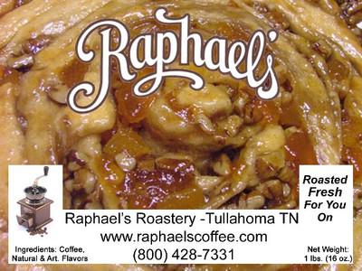 Sweet cinnamon and fresh roasted pecan pastry flavor.