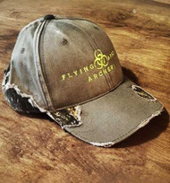 MEN'S FRAYED WITH MOSSY OAK® CAMO HAT