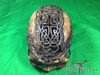 Zane Wylie carved real human skull top front photo Product URL: www.osteologywarehouse.com/real-human-skulls/zane-wylie-carved-real-human-skull.html