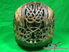 Zane Wylie carved real human skull back photo Product URL: www.osteologywarehouse.com/real-human-skulls/zane-wylie-carved-real-human-skull.html