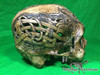 Zane Wylie carved real human skull side right photo Product URL: www.osteologywarehouse.com/real-human-skulls/zane-wylie-carved-real-human-skull.html