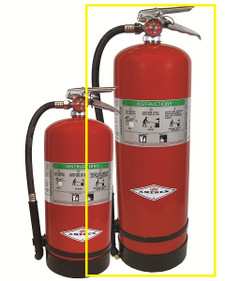 Amerex B262CG (2.5 gallon) Wet Chemical Fire Extinguisher
