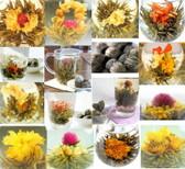 Random Mix Blooming Flowering Tea 120 Blooms