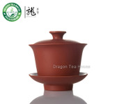 Yixing Zisha Clay Red Gaiwan 90ml