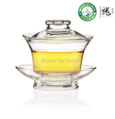 Traditional Gongfu Tea Clear Glass Gaiwan 150ml FH-333