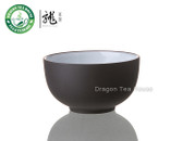 Yixing Clay Glazed Dark Brown Zisha Teacup 20ml 0.7oz