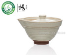 Handmade White Ceramic Gongfu Tea Gaiwan 100ml 3.38 oz