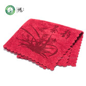 High Quality Chinese Gongfu Tea Table Cleaning Cloth Towel 30*30cm Color: Red