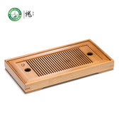 Small Bamboo Gongfu Tea Table Serving Tray 27*13cm