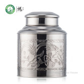 Large Stainless Steel Canister Tea Caddy Container With Double Lid 3500ml