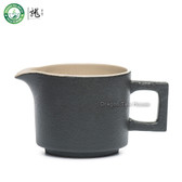 Black Zen Chinese Gongfu Tea Fair Cup Ceramic Serving Pitcher Creamer 190ml