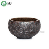 Handmade Wood Fired Chinese Teacup Gongfu Tea Serving Cup 50ml 1.69oz
