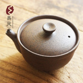 Ceramic Gongfu Tea Gaiwan Pottery Teapot Teacup Brewing Vessel 180ml 6.08oz
