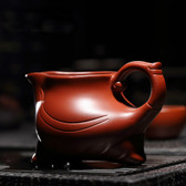 Three-Legs Dragon Clay Zisha Cha Hai Gongfu Tea Serving Pitcher Fair Cup 220ml