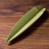 Handmade Natural Green Bamboo Gongfu Tea Scoop Leaves Presentation Vessel